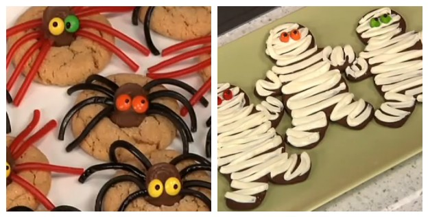 ... you how to make spider cookies mummy and spider halloween cookies