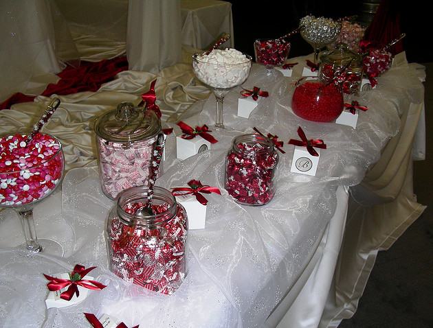 If you are looking to provide a candy buffet for a less formal event