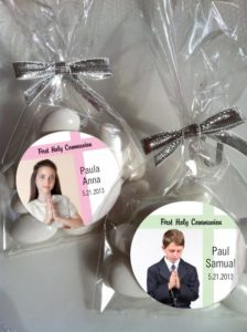 New Baptism and Communion Favors
