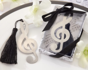 Music Favors for Theme Party