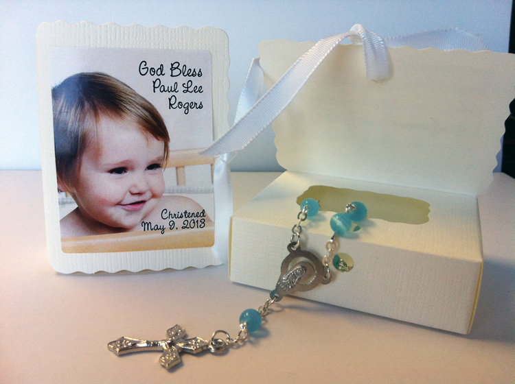 Pin christening baptismal souvenirs philippines ajilbabcom portal on pinterest - Giveaways baptism ...