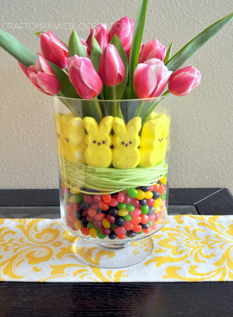 here is another centerpiece - Easter Centerpieces