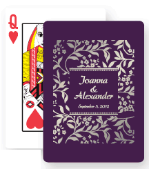 Wedding Playing Cards Favor