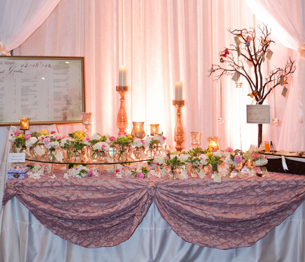 Unique Wedding Reception Ideas: Wedding Place Card Table Ideas