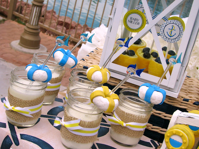 nautical baby shower theme party