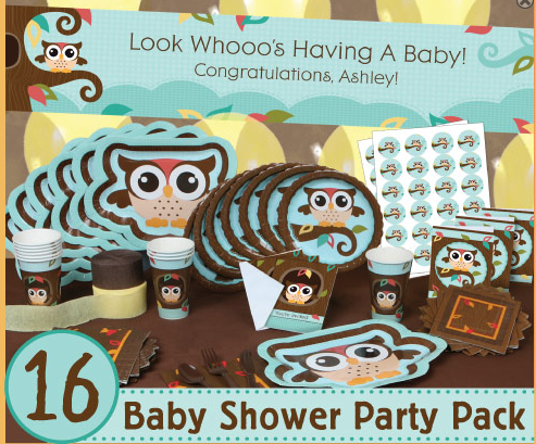 Baby shower food ideas baby shower ideas owl for Baby shower decoration stores