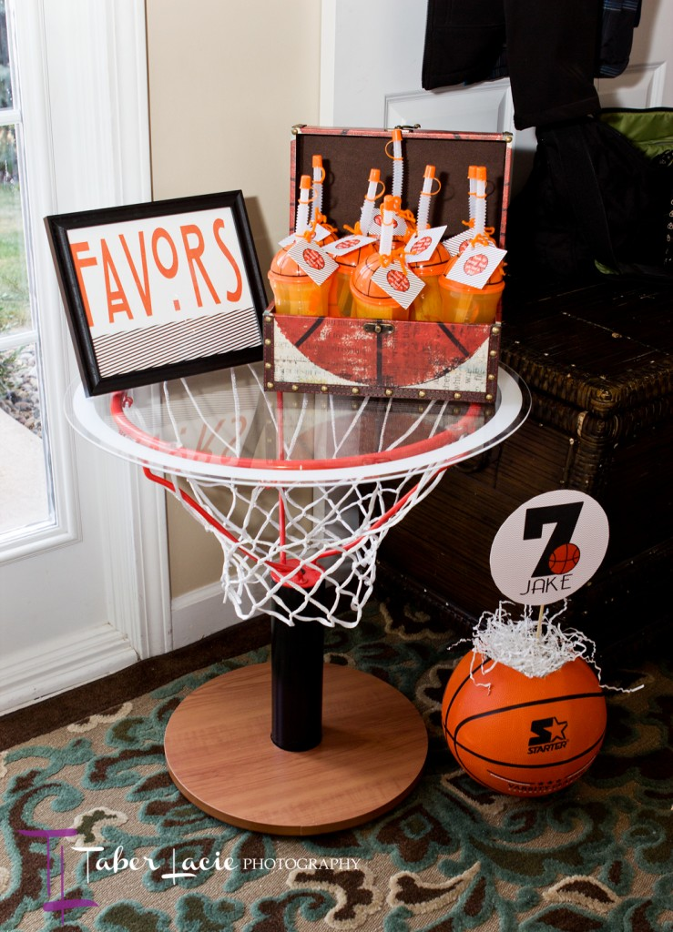 Cool Party Favors Basketball Birthday Party