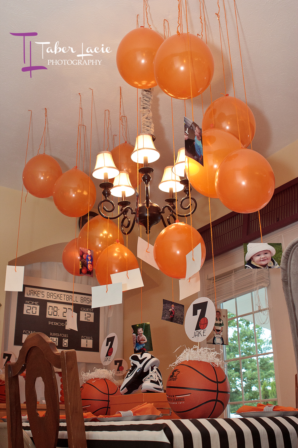 Basketball Theme Party Pictures To Pin On Pinterest