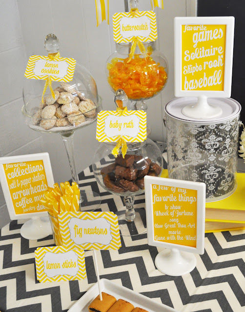 90th Birthday Party Ideas Sound Of Music Favorite Things