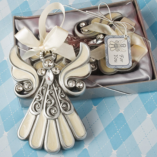 Ornament Christening Favors: Ornament Wedding Favors