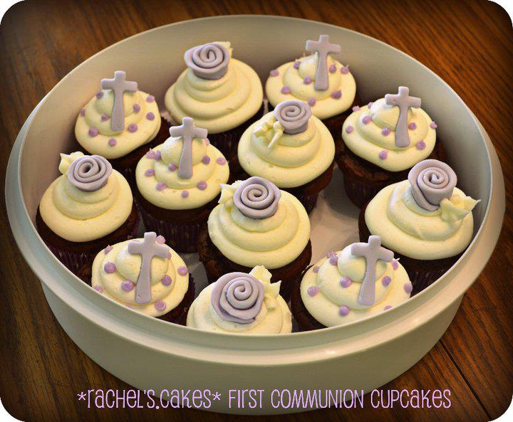 Communion Cupcake Ideas