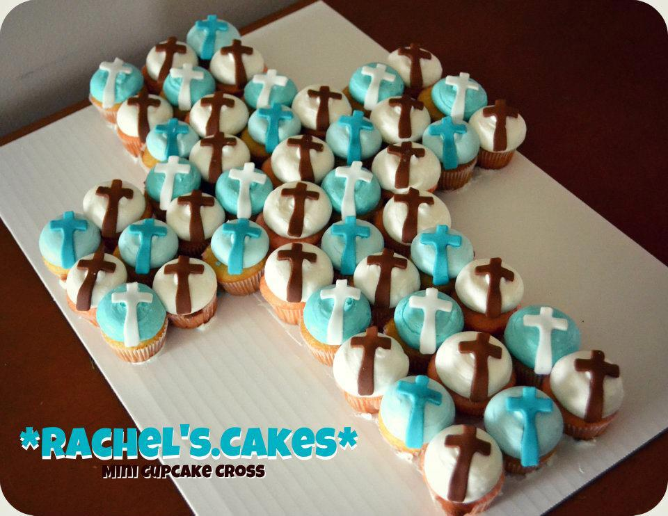 Cupcake Decorating Ideas For First Communion : Communion Cupcake Ideas
