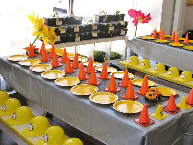 Birthday Party Themes Construction Themed Birthday Party