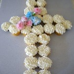 Baptism or Communion Cupcakes