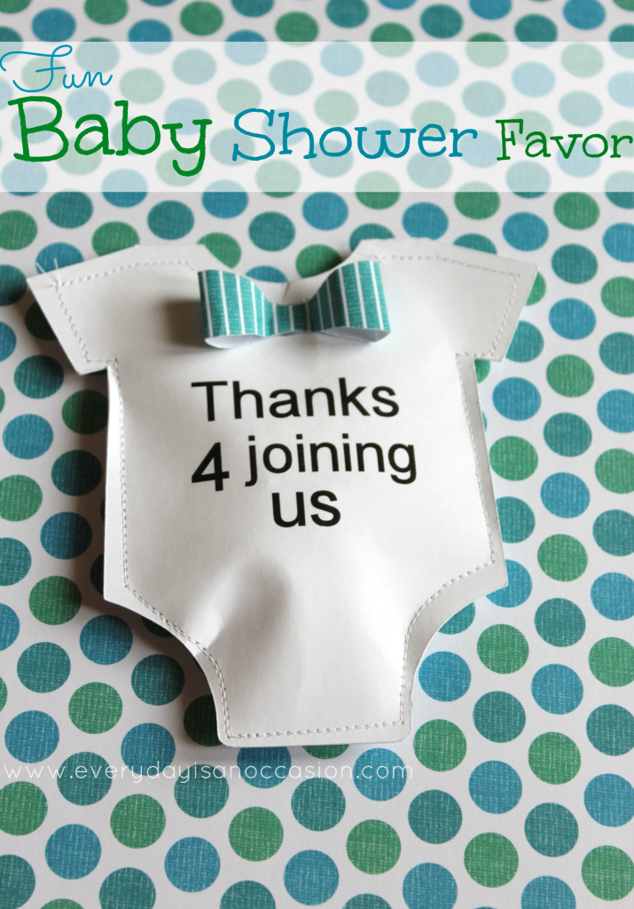 am always on the hunt for cute diy baby shower favors and once again