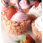Rice Krispie Cupcakes