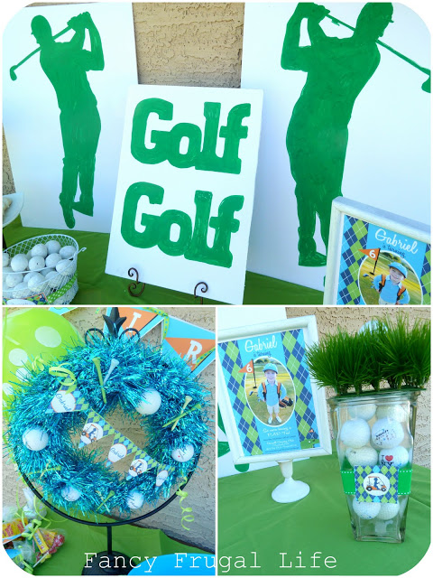 Golf Theme Birthday Party, Golf Decorations and Ideas