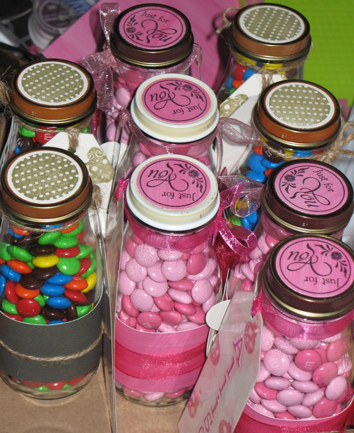 DIY Candy Jars - Cheap Favors