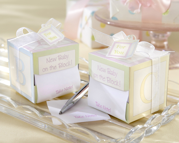 Baby Shower Party Favor Note 600 x 480