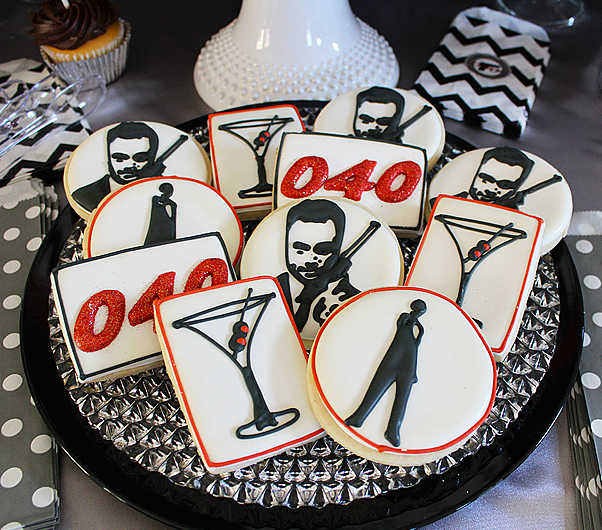 Birthday Party Ideas for Men - Bond...James Bond