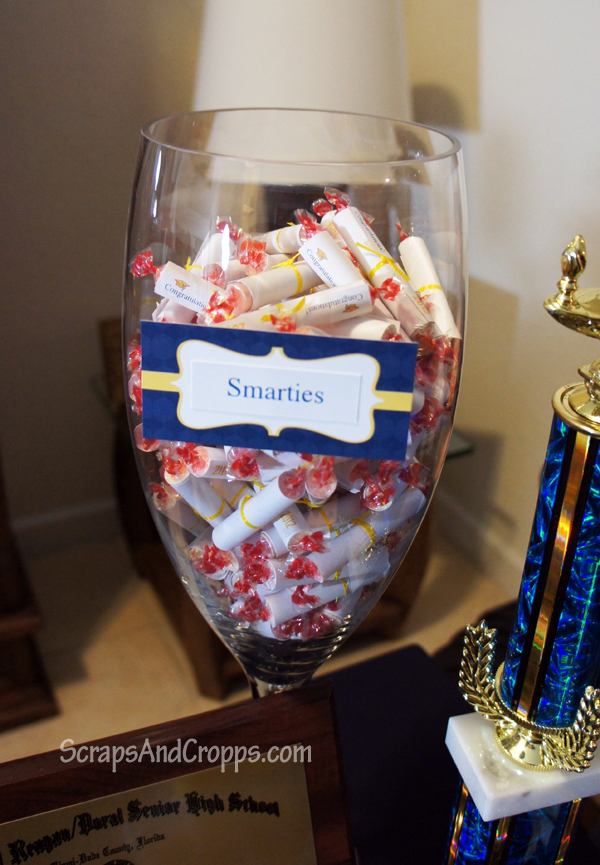 Homemade nursing graduation candy favors cum face mature