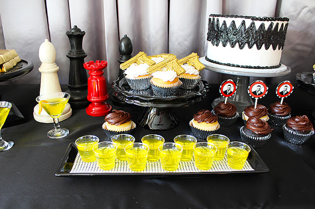 Birthday party ideas for men james bond theme - Birthday party theme for men ...