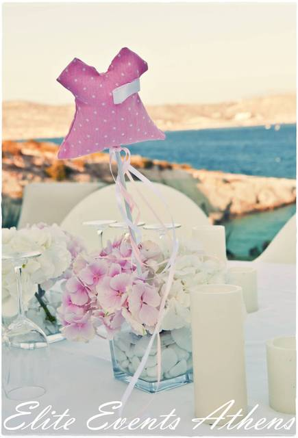 Baptism party ideas baby girl christening for Baby girl baptism decoration ideas