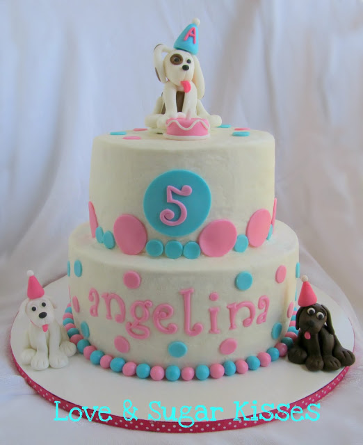 Puppy Dog Cake Children S Cakes