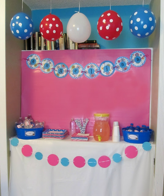 Puppy Themed Birthday Party Pink Girl Bash