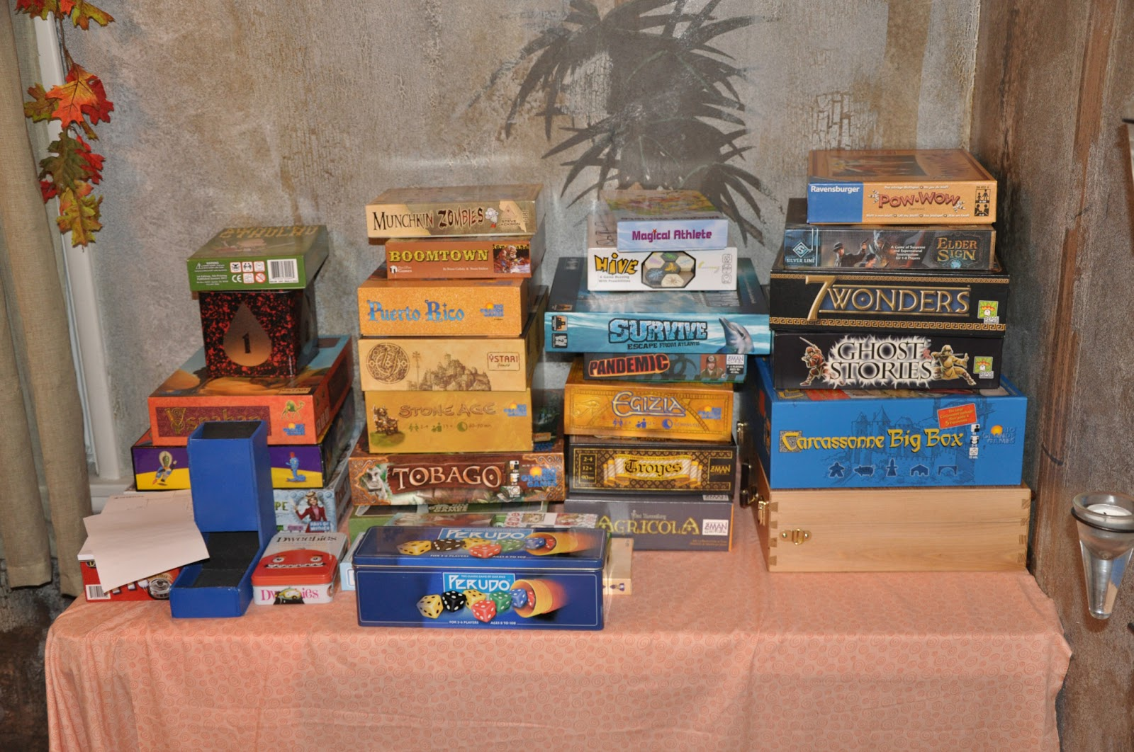 board game party game night birthday ideas