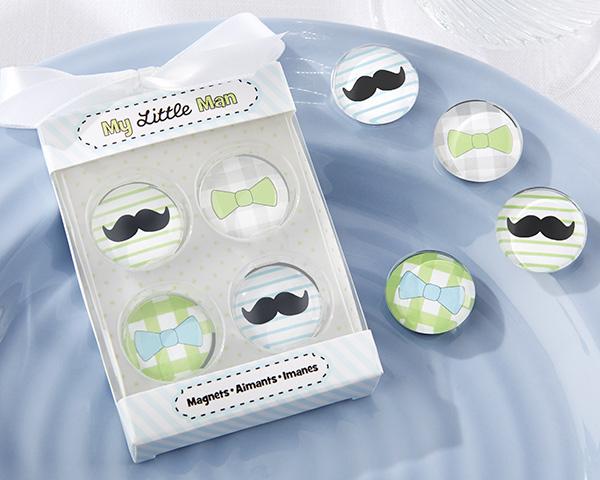 mustache baby shower favors