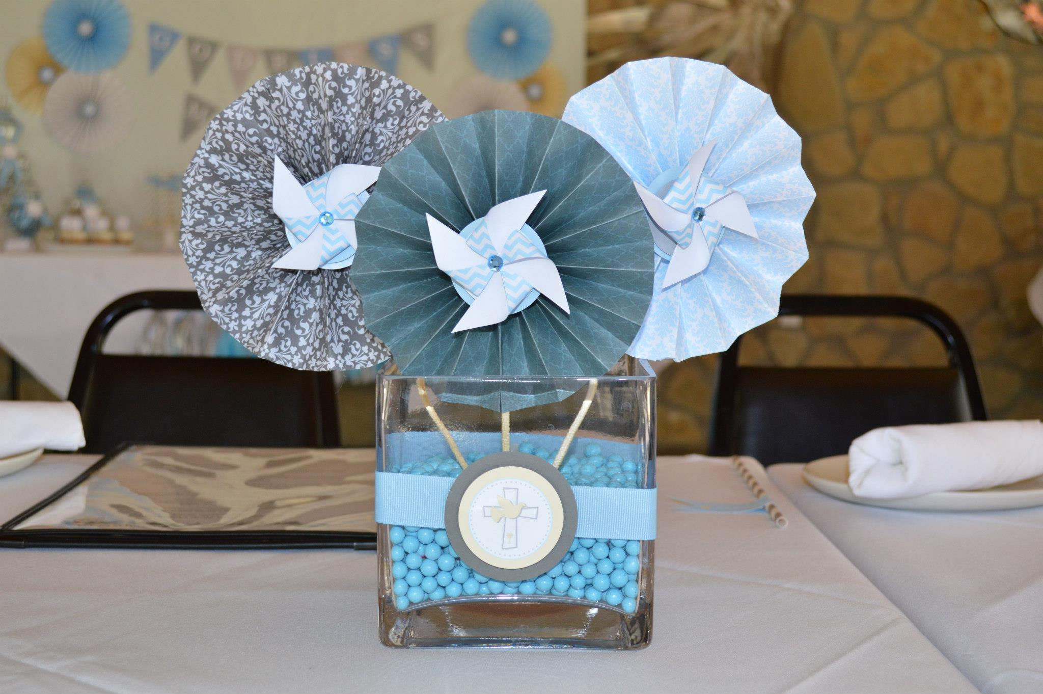 First munion Table Centerpieces Table Ideas chanenmeilutheran