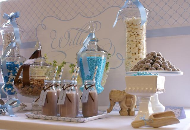 Christening party ideas for a boy baby baptism - Ideas for baptism party favors ...