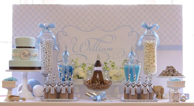 Christening party ideas for a boy baby baptism for Baby baptism decoration ideas