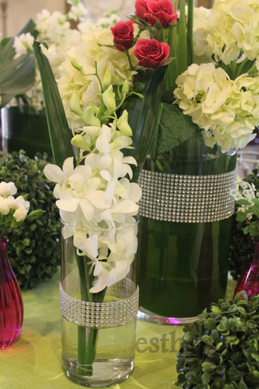 Diamond Party Ideas - DIY Vase