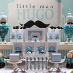 Mustache Baby Shower and Party Ideas