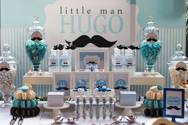 Mustache Baby Shower Ideas Little Man Party
