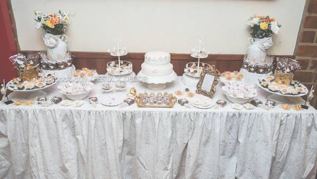 Christening Party - Elegant Cakes, Decorations and Favors