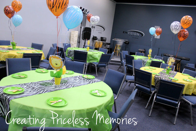 jungle theme baby shower decorations fun and easy baby shower