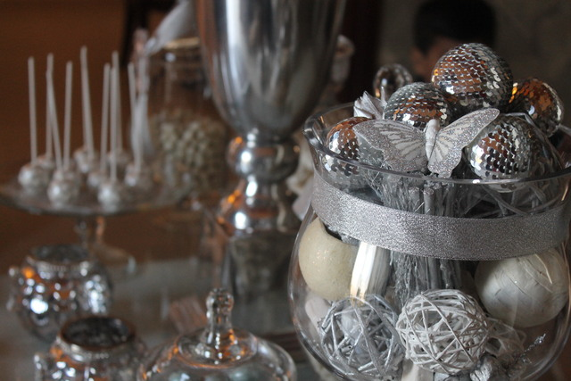 Silver 25th Wedding Anniversary Party Ideas 25th Wedding ...