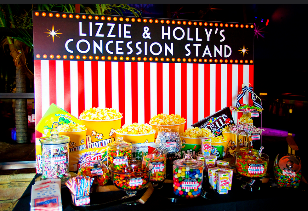 Hollywood Theme Party Movie Bat Mitzvah