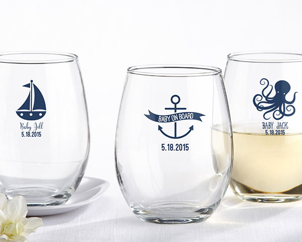 nautical baby shower favors sea ocean decorations