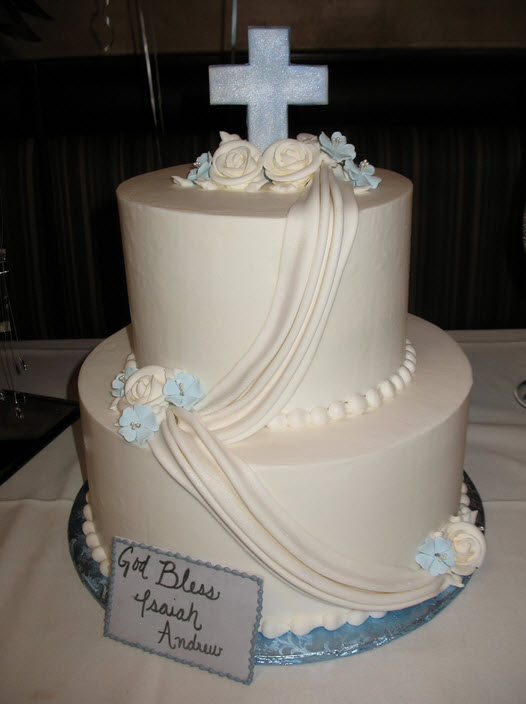 Pin Baptism And First Communion Cakes Cake on Pinterest
