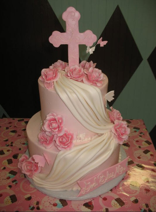 Baptism and Communion Cakes