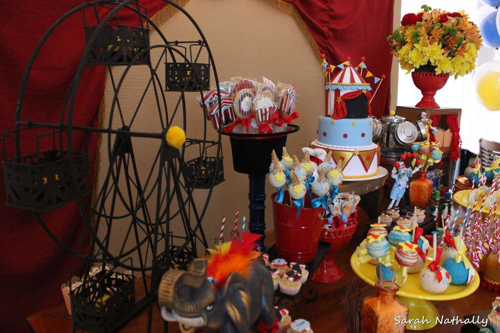 circus theme party ideas carnival birthday