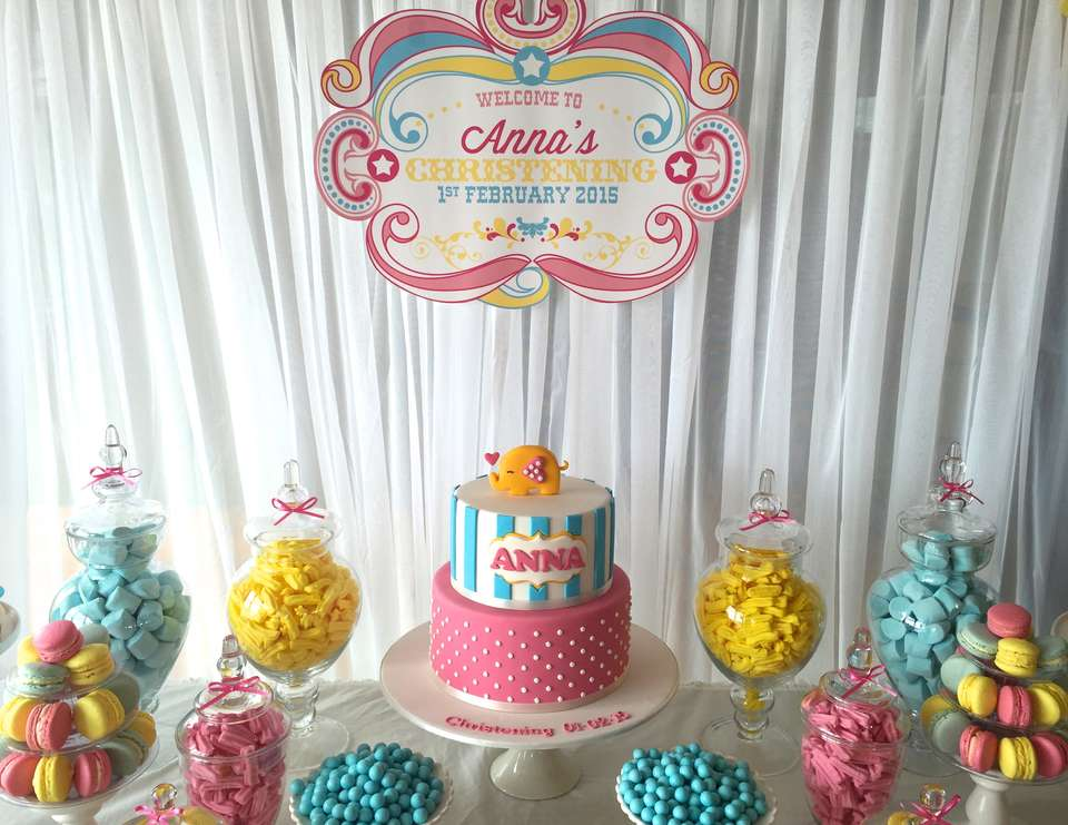 Circus Party Ideas - Christening