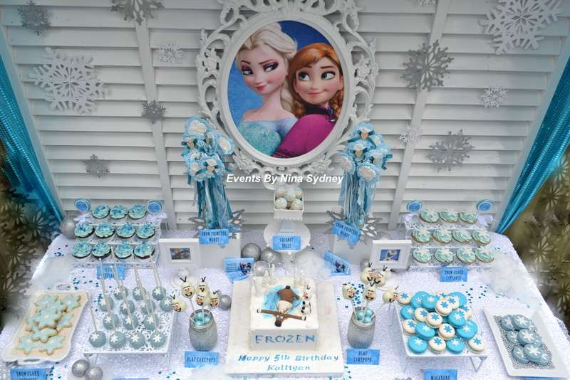 Frozen Themed Birthday Party Princess Ideas