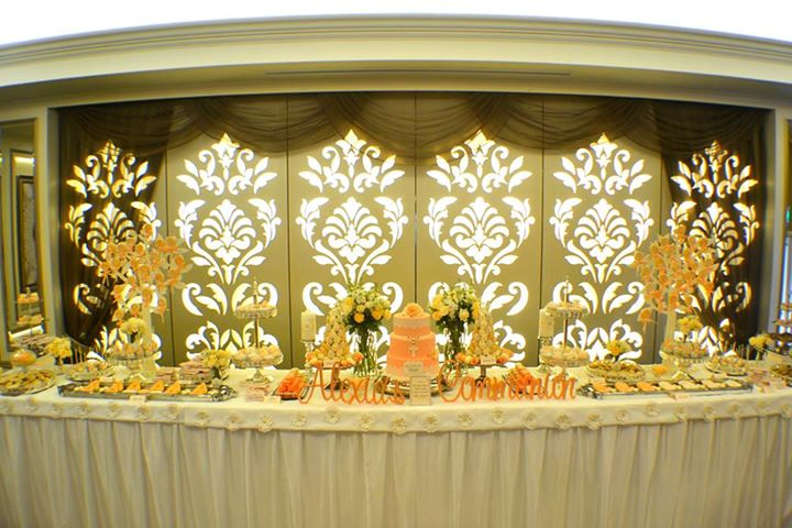 First Communion Party Dessert Table Decorations