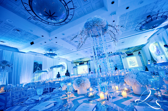 Under the sea wedding theme decorations images wedding decoration under the sea bat mitzvah nautical beach party awesome under the sea themed wedding junglespirit Images