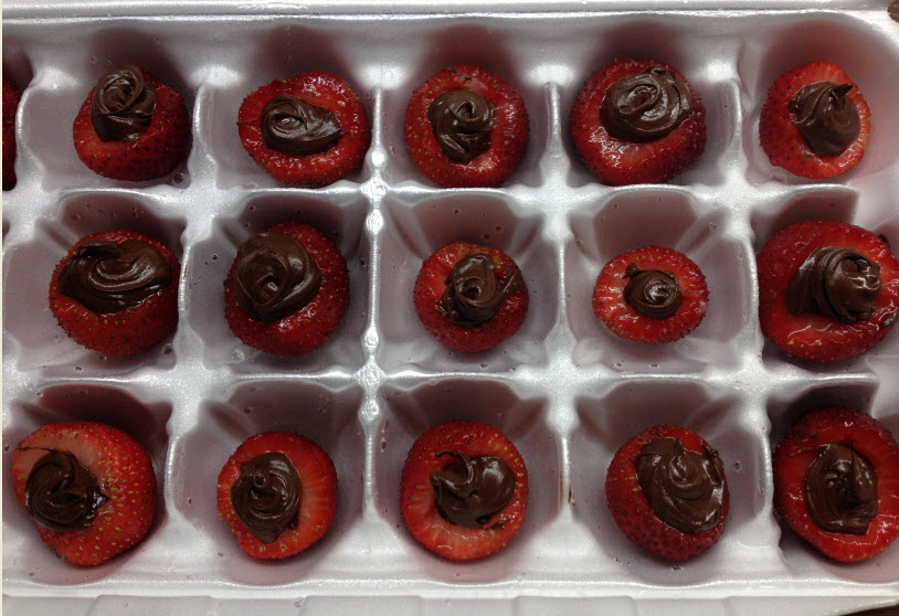 Sandy's Chocolate Strawberries